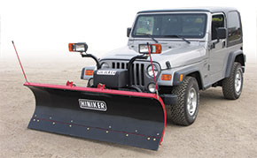 Hiniker Heavy Residential Poly Plows
